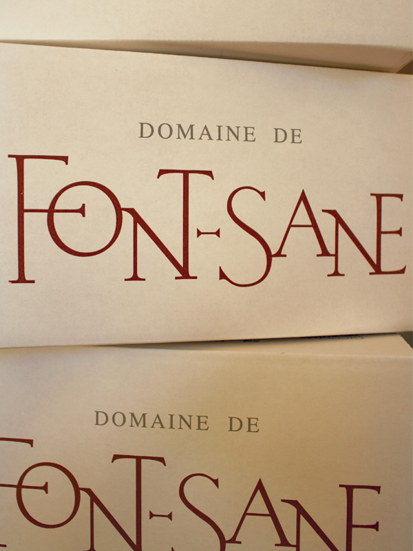 cartons fontsane